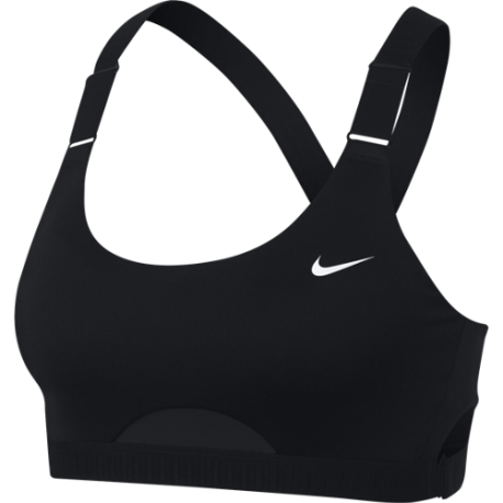 Nike Reggiseno Sportivo Classic Adjust Nero Donna