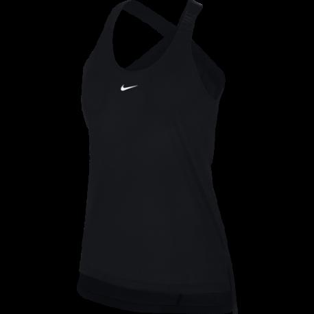 Nike Canotta Elastika Nero Donna