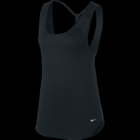Nike Canotta Breathe Nero Donna