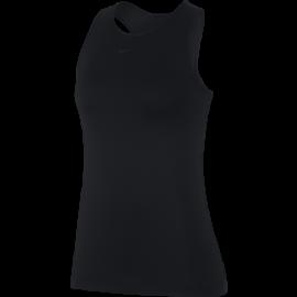 Nike Canotta Pro Deluxe Nero Donna