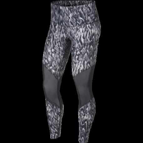 Nike Leggings HR QLCMO Grigio Donna