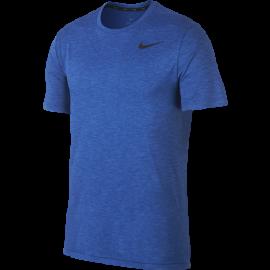 Nike Maglia Manica Corta SS HPR Dry Blu Uomo