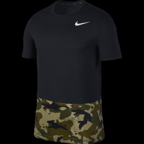 Nike Maglia Manica Corta SS HPR Dry Nero Uomo