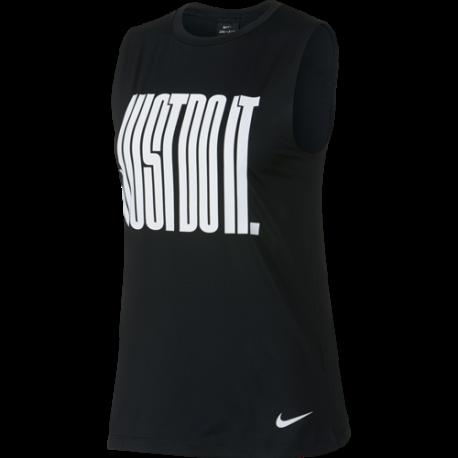 Nike Canotta Just Do It Nero Donna