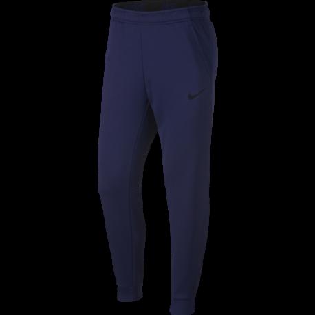 Nike Pantalone Therma Taper Blu Uomo