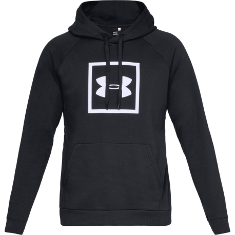 Under Armour Felpa Rival Fleeche Logo Nero Uomo