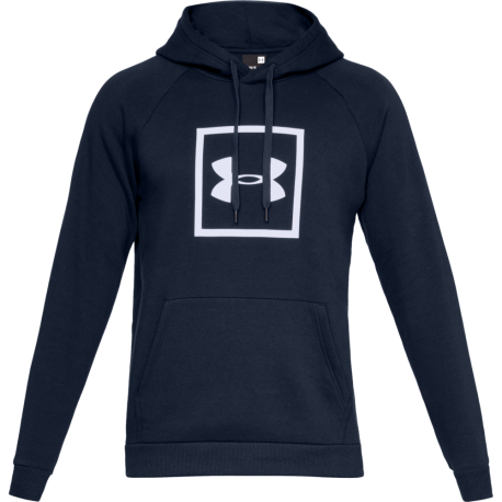 Under Armour Felpa Rival Fleece Logo Blu Uomo
