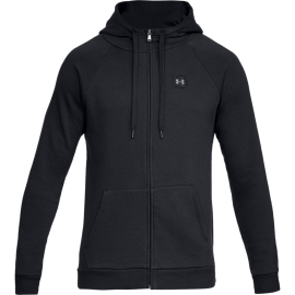 Under Armour Felpa Rival Fleeche FZ Nero Uomo