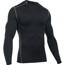 Under Armour Maglia Manica Lunga ColdGear Compression Nero Uomo