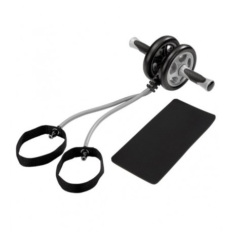 Get Fit Exercizer Wheel With Tube
