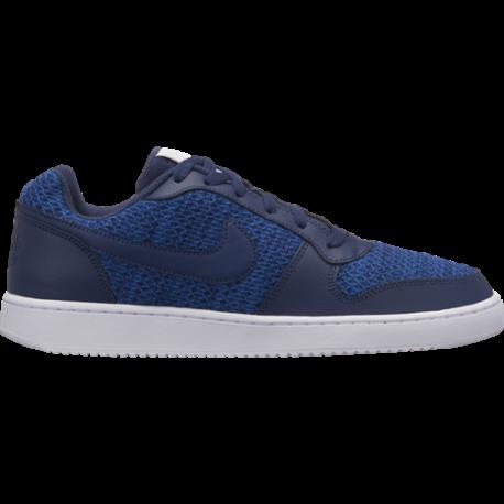 Nike Ebernon Low Premium Blu Bianche Uomo