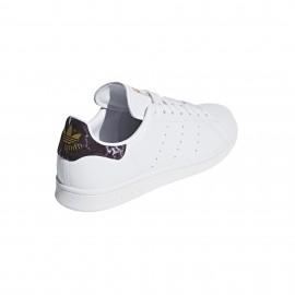 Adidas Stan Smith Lea Bianche Nere Uomo