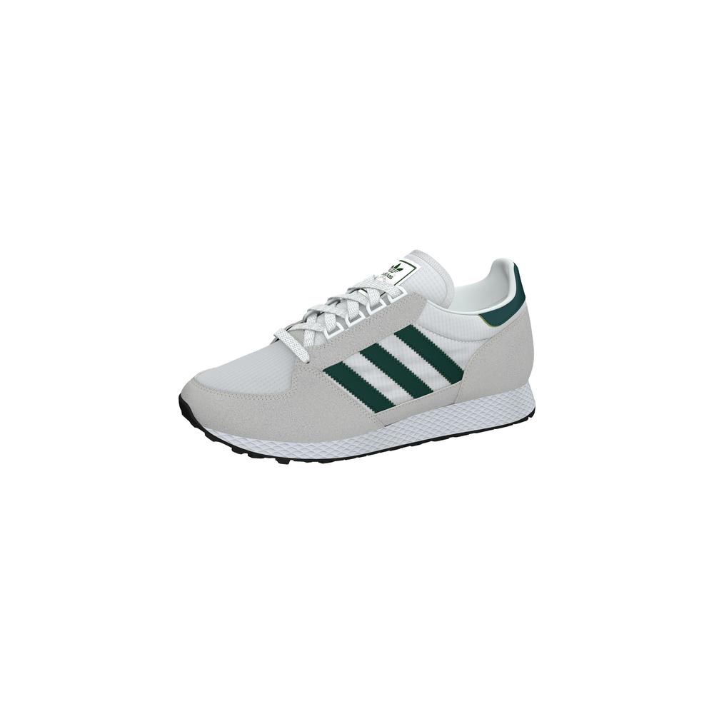 huge discount 2f175 e8d9b ... Adidas Originals Forest Grove Bianche Verdi Uomo