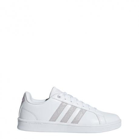 Adidas Originals Advantage Cf Bianco Grigio Donna