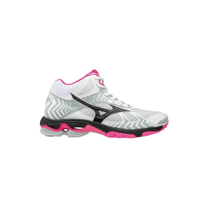 c39d0142575cd Scarpe · Sport di squadra · Scarpe pallavolo  Mizuno Wave Bolt 7 Mid Bianco  Rosa Donna. Mizuno Wave Bolt 7 Mid Bianco Rosa Donna