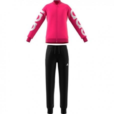 Adidas Tuta Big Logo Fuxia Bambina