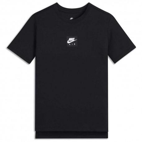 Nike T-shirt Nera Bambino