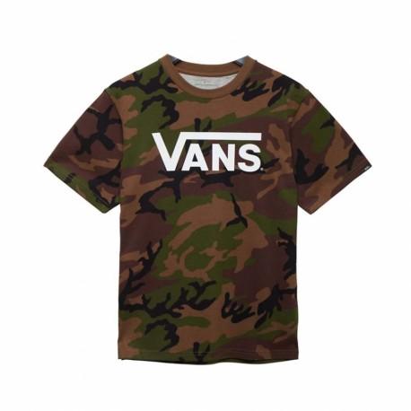Vans T-shirt Logo Camouflage Bambino