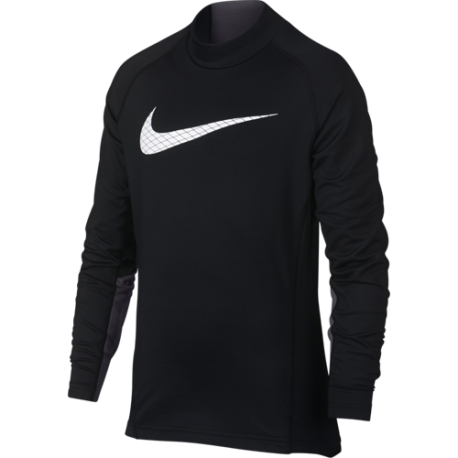 Nike Lupetto Ml Bambino Thermal Pro Core Nero