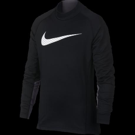 Nike Lupetto Ml Bambino Thermal Pro Core Nero