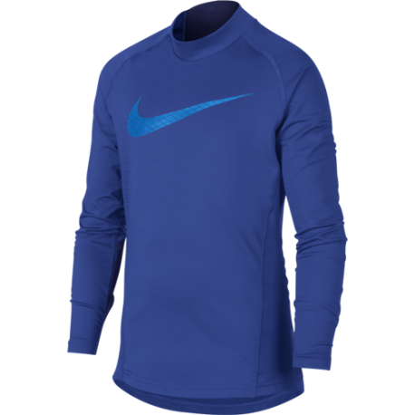 Nike Lupetto Ml Thermal Pro Core Royal Bambino