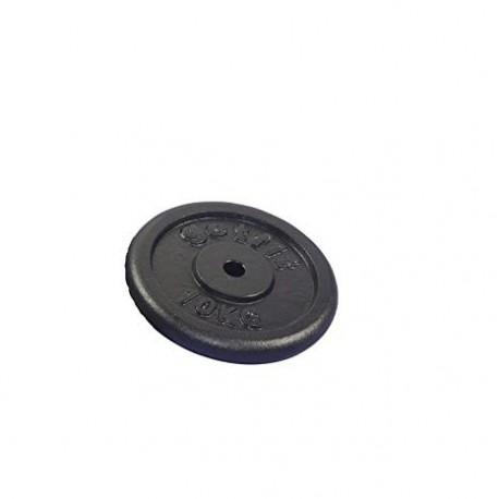 Get Fit Black Plate Disco Ghisa 10 Kg