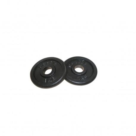 Get Fit Black Plate Ghisa Box 2 Pz x 1 Kg
