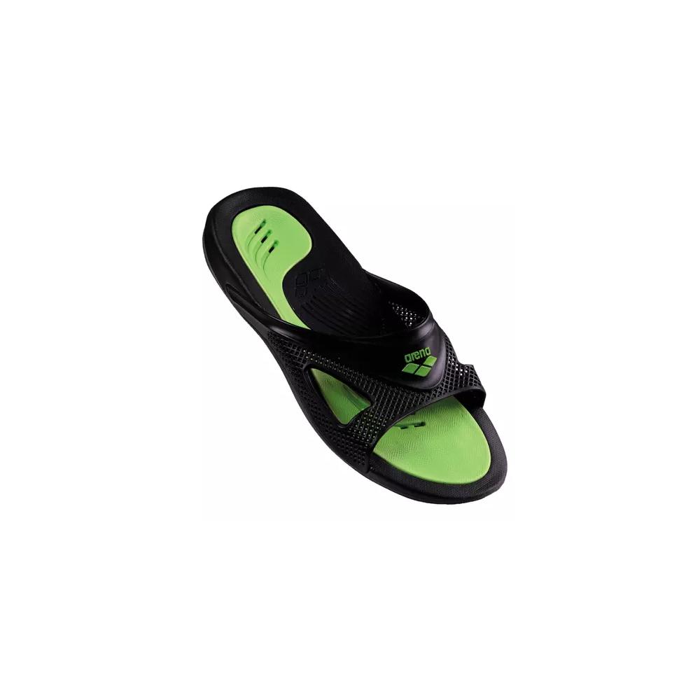 Arena ciabatte hydrofit nero verde acquista online su sportland - Arena ciabatte piscina ...