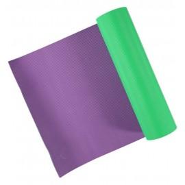 GetFit Materassino yoga Mat Green/Violet 1830x615x5,5