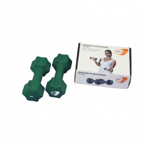Get Fit Neoprene Dumbbell Box 2 x 5 Kg
