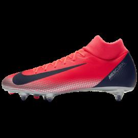 Nike  Superfly 6 Acadeny Cr7 Sg Pro Rosso/Nero