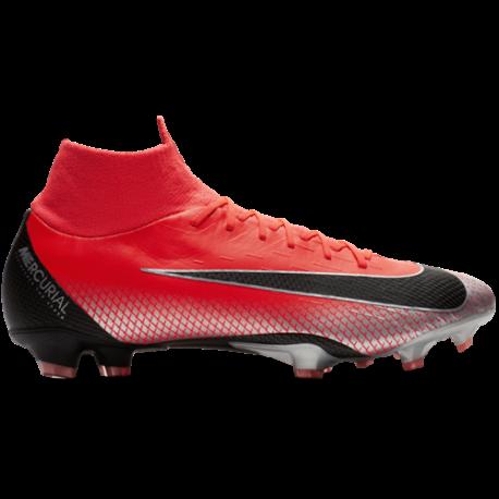 Nike  Superfly 6 Pro Cr7 Fg Rosso/Nero