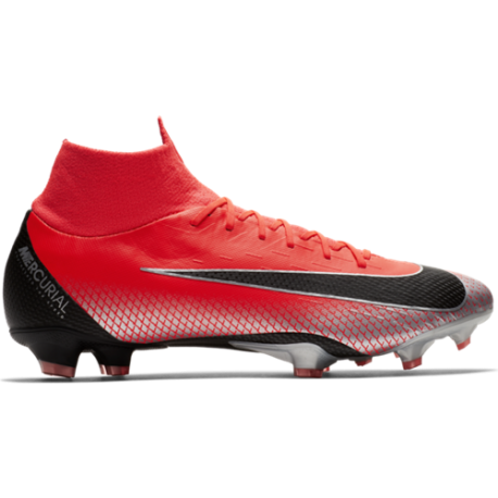 Nike  Superfly 6 Pro Cr7 Fg Rosso/Nero