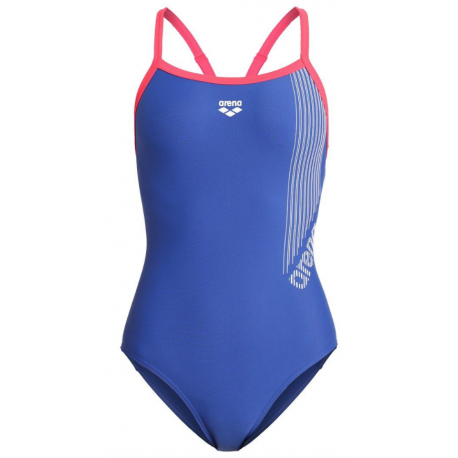 Arena Costume Intero Slipstream Rosa Donna