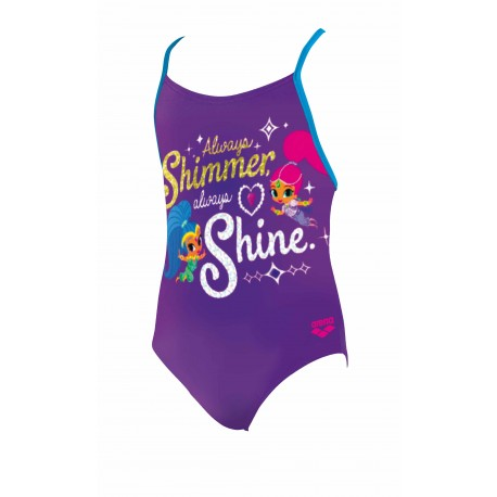 Arena Costume Shimmer&Shine Mirtillo Blu Bambina