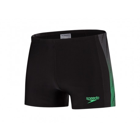 Speedo Parigamba Placement Nero Verde Uomo
