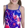 Speedo Costume Shellbell Blu Rosa Bambina