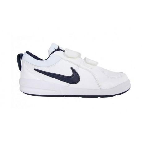 Nike Pico 4 (Psv)  Bianco/Navy Bambino
