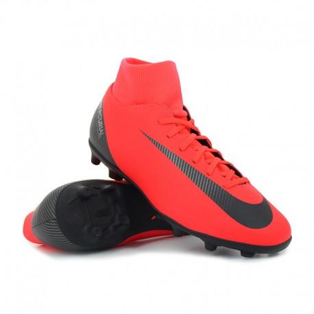 Nike  Superfly 6 Club Cr7 Fg Rosso/Nero