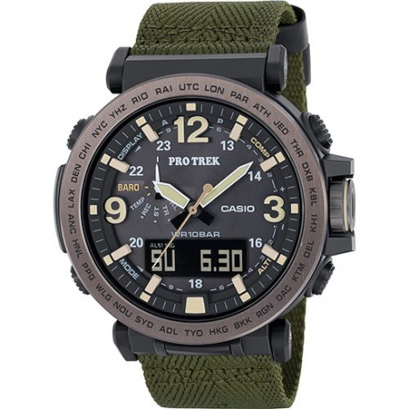Casio Orologio Altimetro Prg 600 Canvas Nero