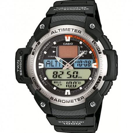 Casio Orologio Altimetro Sgq 400h Nero