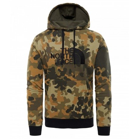 The North Face Felpa Drew Peak Militare Uomo