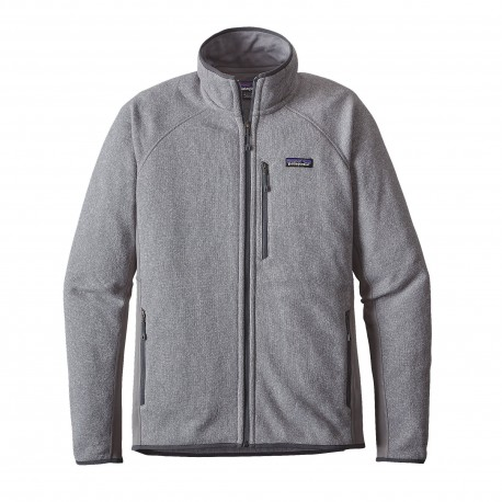 Patagonia Giacca In Pile Performace Better Sweater Grigio Scuro Uomo ... c16d3bd178e
