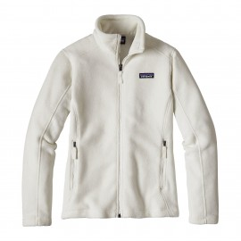Patagonia Giacca In Pile Classic Synchilla Bianco Donna