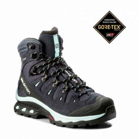 Salomon Pedula Quest 4D GORE-TEX Nero Azzurro Donna Salomon Pedula Quest 4D  GORE-TEX Nero. 84da0696685