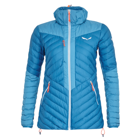 Salewa Giacca In Piuma Ortles Light Blu Donna