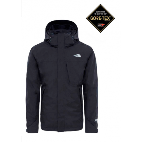 The North Face Giacca Mountain Light Nero Uomo