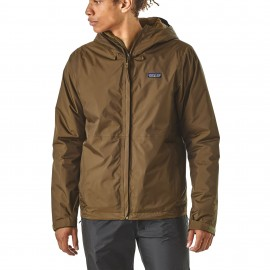 Patagonia Giacca Insulated Torrentshell Marrone Uomo