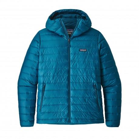 Patagonia Giacca In Piuma Con Cappuccio Down Sweater Blu Uomo