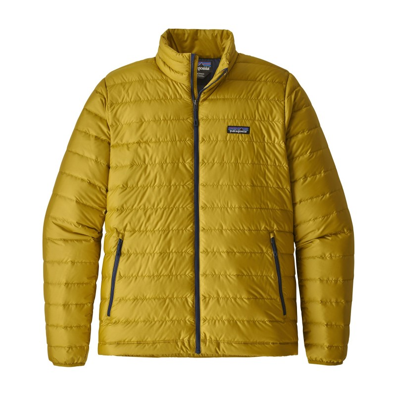 check out 217c8 a71c8 Patagonia Giacca In Piuma Down Sweater Giallo Uomo